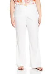 NYDJ Women's Plus-Size Claire Trousers In Stretch Linen  22W