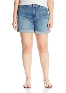 Not Your Daughter's Jeans NYDJ Women's Plus Size Jessica Boyfriend Jean Short