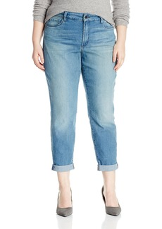 Not Your Daughter's Jeans NYDJ Women's Plus Size Jessica Relaxed Boyfriend Jeans