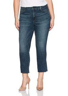 NYDJ Women's Plus Size Marilyn Straight Ankle Jeans
