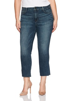 NYDJ Women's Plus Size Marilyn Straight Ankle Jeans