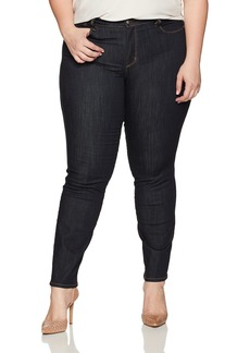 NYDJ Women's Plus Size Marilyn Straight Jeans