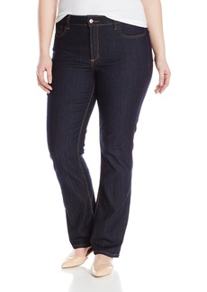 NYDJ Women's Plus-Size Marilyn Straight Jeans