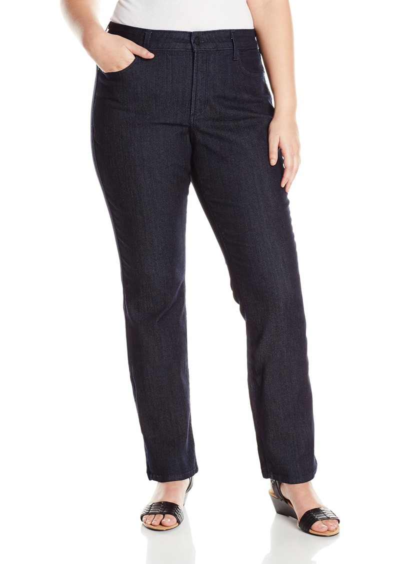 Not Your Daughter's Jeans NYDJ Women's Plus-Size Marilyn Straight Jeans with Pocket Details  22W