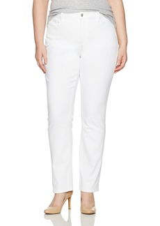 NYDJ Women's Plus Size Marilyn Straight Leg Jeans