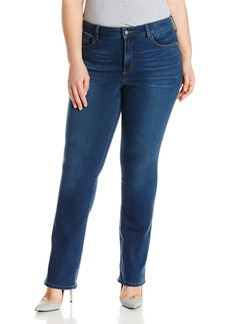 NYDJ Women's Plus Size Marilyn Straight Leg Jeans in Future Fit Denim