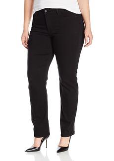NYDJ Women's Plus Size Marilyn Straight Leg Jeans In Luxury Touch Denim