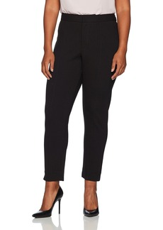NYDJ Women's Plus Size Ponte Knit Ankle Pants  14W