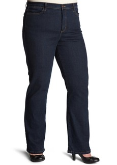 NYDJ Women's Plus Straight Leg Jeans