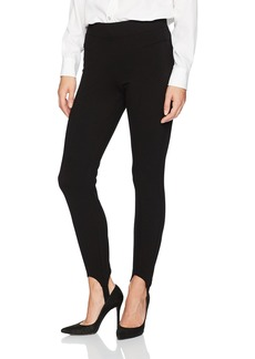 NYDJ Women's Pull On Ponte Knit Leggings with Stirrups