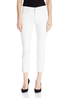 NYDJ Women's Rachel Roll Cuff Ankle Jeans In Bull Denim