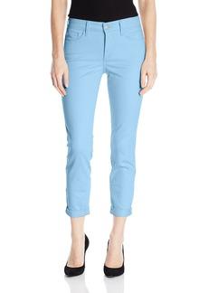 NYDJ Women's Rachel Roll Cuff Ankle Jeans In Bull Denim  6