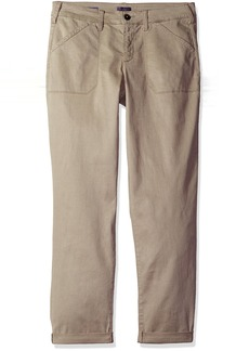 NYDJ Women's Reese Relaxed Chino Pants in Colored Chino Twill