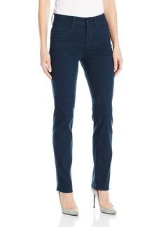 NYDJ Women's Samantha Slim Jeans in Peached Sateen