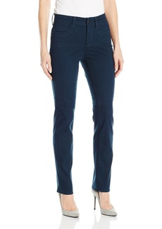 Not Your Daughter's Jeans NYDJ Women's Samantha Slim Jeans in Peached Sateen