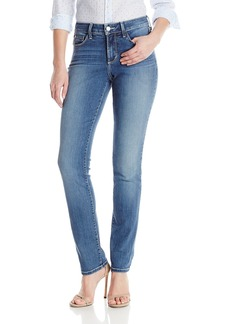 NYDJ Women's Samantha Slim Jeans In Stretch Indigo Denim  2