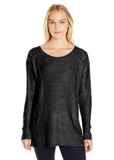 Not Your Daughter's Jeans NYDJ Women's Sequin Tunic Sweater