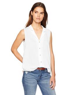 NYDJ Women's Sleeveless Button Detail Top  M