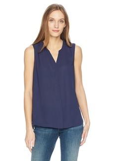 NYDJ Women's Sleeveless Pintuck Pleatback  XL