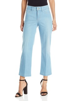 NYDJ Women's Sophia Flare Ankle Jeans In Sky Blue Denim  14