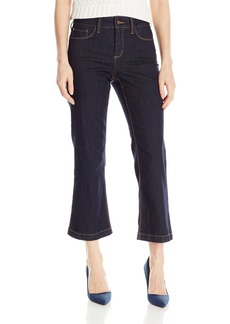 Not Your Daughter's Jeans NYDJ Women's Sophia Flare Ankle Jeans with Tobacco Stitch