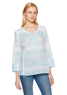 Not Your Daughter's Jeans NYDJ Women's Striped Cotton Tunic