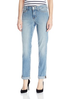 Not Your Daughter's Jeans NYDJ Women's Sylvia Relaxed Boyfriend Jeans In Core Indigo Denim  0