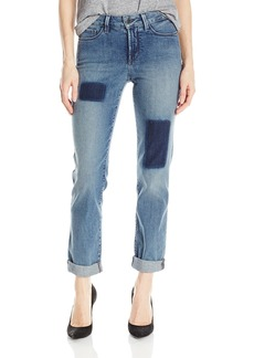 Not Your Daughter's Jeans NYDJ Women's Sylvia Relaxed Boyfriend Jeans with Shadow Patch Treatment  6