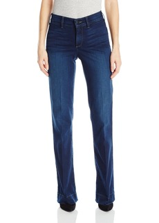 Not Your Daughter's Jeans NYDJ Women's Teresa Modern Trouser Jeans in Future Fit Denim  10