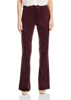 Not Your Daughter's Jeans NYDJ Women's Teresa Modern Trousers in Faux Suede  10