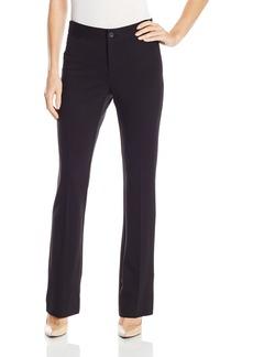 NYDJ Women's Teresa Modern Trousers in Textured Knit Twill  6
