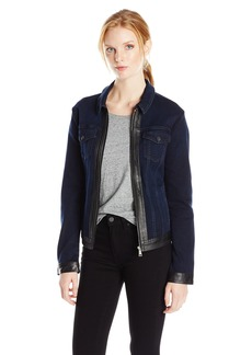 Not Your Daughter's Jeans NYDJ Women's Veronica Jeans Jacket in Future Fit Denim  Large