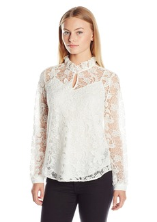 Not Your Daughter's Jeans NYDJ Women's Size Victorian Lace Blouse  Medium/Petite