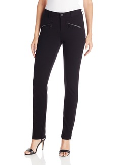 NYDJ Women's Zip Ponte Leggings  4