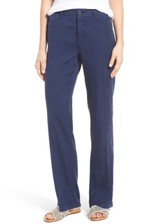 Not Your Daughter's Jeans NYDJ 'Wylie' Five-Pocket Linen Trousers (Regular & Petite)