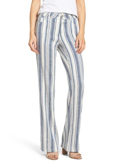Not Your Daughter's Jeans NYDJ Wylie Stripe Linen Blend Trousers