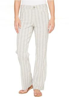 NYDJ Wylie Trouser in Striped Linen