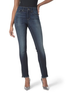 Not Your Daughter's Jeans NYDJ Zip Hem Stretch Skinny Ankle Jeans (Bezel)