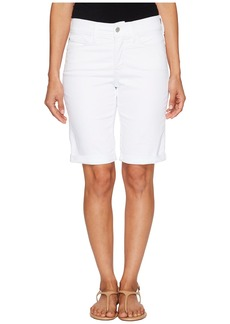 Not Your Daughter's Jeans Petite Briella Shorts in Optic White