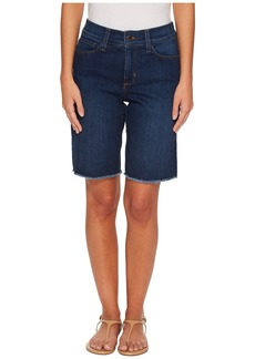 Not Your Daughter's Jeans Petite Briella Shorts w/ Fray Hem in Cooper
