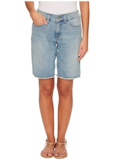 Not Your Daughter's Jeans Petite Briella Shorts w/ Fray Hem in Westland