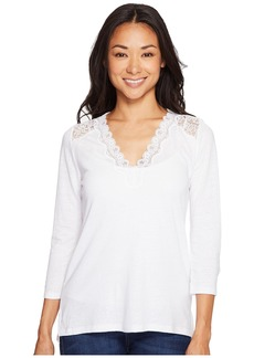 Not Your Daughter's Jeans Petite Ella Lace Knit Top