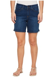 Not Your Daughter's Jeans Petite Jenna Shorts w/ Mini Side Slit in Cooper in Cooper