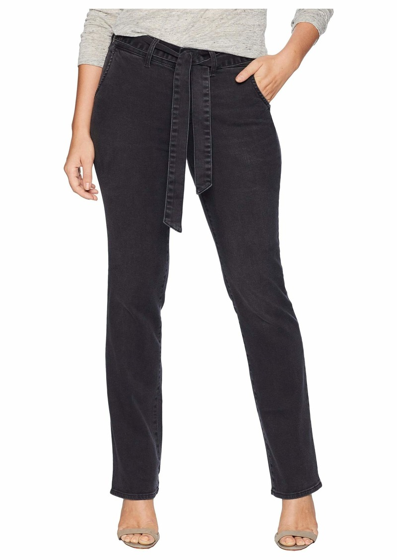 NYDJ Petite Marilyn Straight w/ Trousers Details