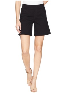 Not Your Daughter's Jeans Pull-On Shorts w/ Side Slit in Black