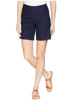 Not Your Daughter's Jeans Pull-On Shorts w/ Side Slit in Rinse