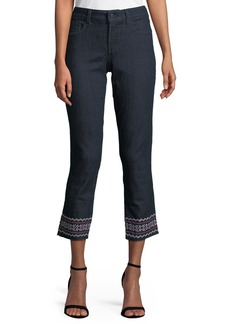 Not Your Daughter's Jeans Sheri Embroidered-Ankle Jeans