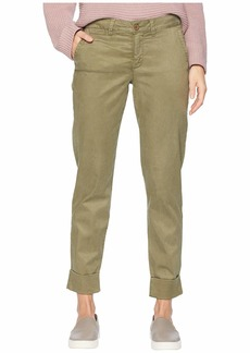 NYDJ Skinny Chino Ankle w/ Clean Cuff in Olive
