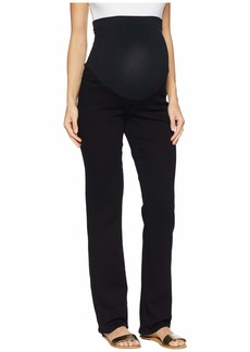 NYDJ Straight Maternity in Black