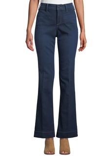 NYDJ Teresa Modern High-Rise Denim Trousers